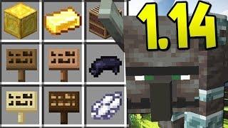 NUOVI BLOCCHI E MOB - Minecraft 1.14