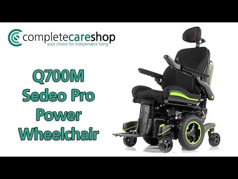 Q700M Sedeo Pro Power Wheelchair - Quickie Power Wheelchairs