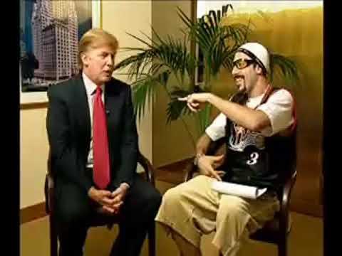 Interview: Sacha Baron Cohen as Ali G Interviews Donald Trump on Da Ali G Show - March 7, 2003