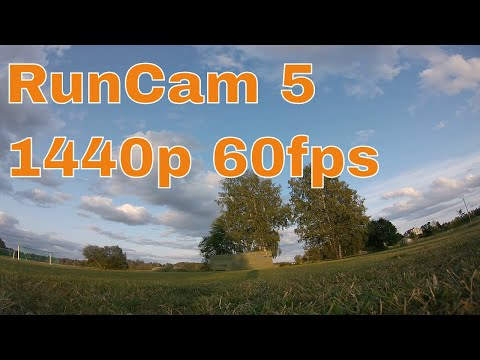 RunCam 5 Default Settings 1440p 60fps Sample Footage 4/8