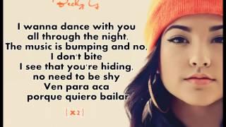 Quiero Bailar Becky G ft. 3BallMTY Con Letra (Lyrics)