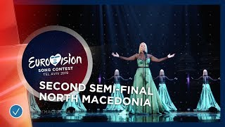 Tamara Todevska - Proud - North Macedonia - LIVE - Second Semi-Final - Eurovision 2019