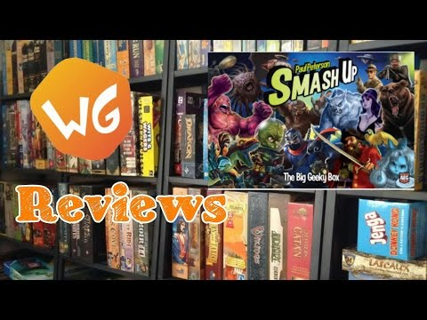 Weaponsgrade Review: Smash Up - The Big Geeky Box