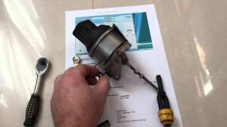 Как заменить клапан регулятора давления G581