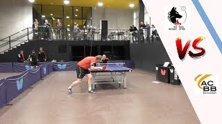 LILLE METROPOLE TT vs BOULOGNE BILLANCOURT | NATIONALE 1 | TENNIS DE TABLE | HIGHLIGHTS