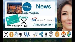 Money 20/20 David Schwartz Debate, SBI Virtual Currencies & Wirex XRP ETH BTC LTC + SBI Bits