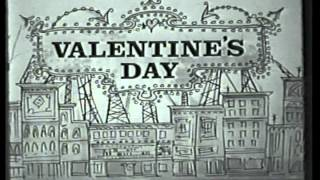 VALENTINE'S DAY opening credits ABC sitcom