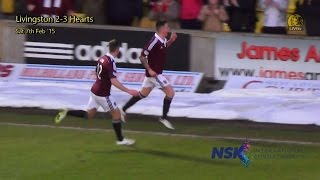 preview picture of video 'Livi 2-3 Hearts - Sat 7th Feb '15 - GOALS'