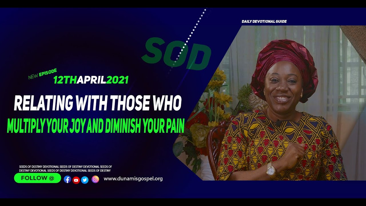 Seeds of Destiny 12 April 2021 Today Summary by Dr Becky Paul-Enenche