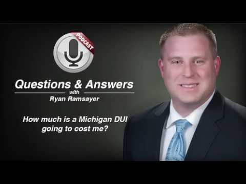 video thumbnail Cost of DUI in Michigan