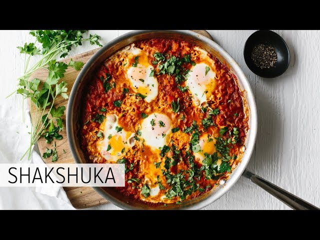 SHAKSHUKA | healthy breakfast recipe (or anytime of day recipe)