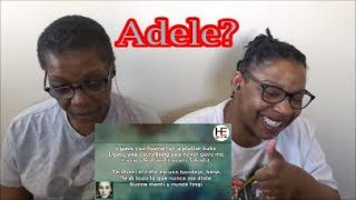 Adele - Can't Let Go Reaction!