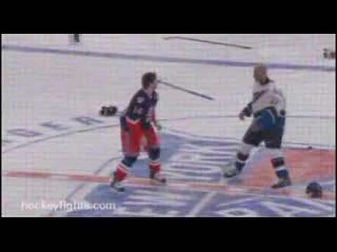 Colton Orr vs. Donald Brashear