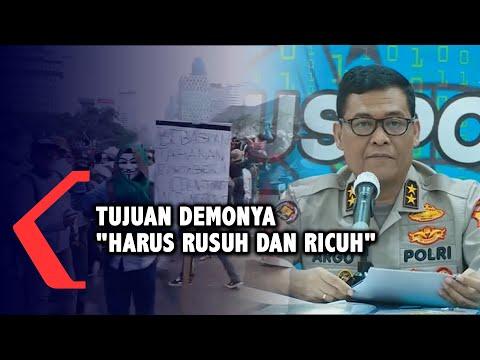 full polisi beberkan kronologi kerusuhan saat demo mulai dari ajakan hingga demo