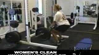 Women's Olympic Lifting - Clean