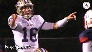 HARD HITTING : Sandy Creek (GA) vs Cartersville (GA) - Trevor Lawrence is NFL READY!!!