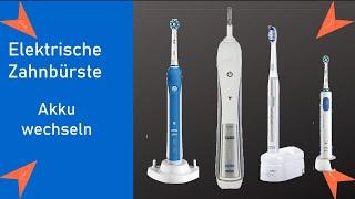 Oral B / Elektrische Zahnbürste - Akku austauschen - Akku austauschen