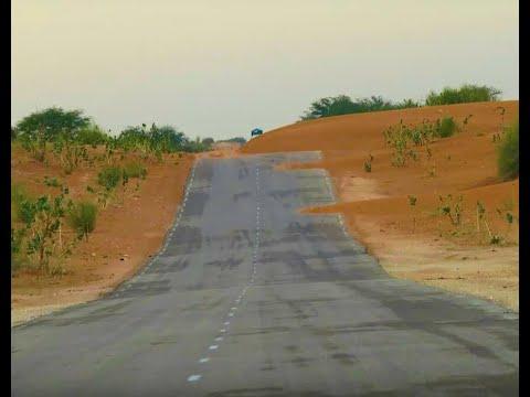 بالفيديو.. مسافرون يواجهون الخطر على طريق المذرذرة