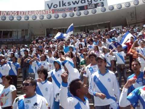 """""""puebla vs atlante apertura 2010LA ZKINA MALKRIADOS"""" Barra: Malkriados • Club: Puebla Fútbol Club"""