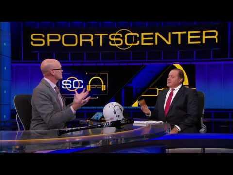 Berman carries 'emotional wallet' of ESPN memories - SportsCenter (01-06-2017)