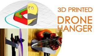 FPV drone motor hangers for walls & cabinets - Useful 3D Prints