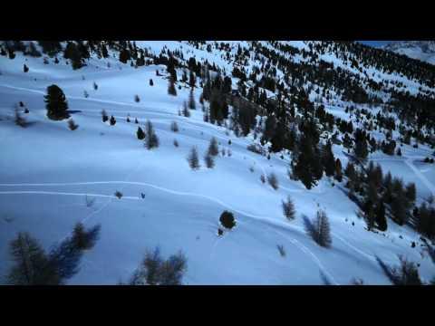 Ski sur les pistes de Montclar