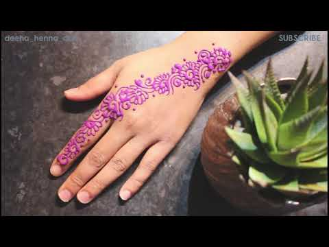colored mandala mehndi design tutorial by deeha henna art