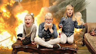 EXPLOSION at Grandma's House! Hide and Seek Game