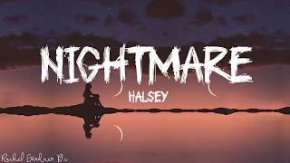 Halsey – Nightmare (Lyrics)