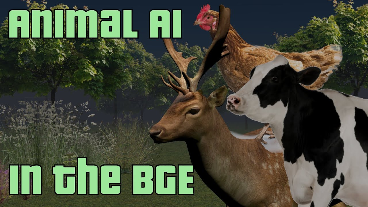 How to make Animal Ai in the blender game engine