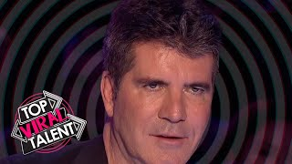 OMG! SIMON GETS HYPNOTIZED! These are the BEST HYPNOSIS ACTS