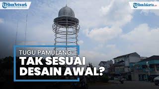 Melihat dari Dekat Tugu Pamulang yang Dibangun Pemprov Banten dengan Biaya Pembangunan Rp300 Juta