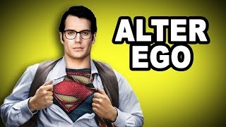 🎭 Learn English Words: ALTER EGO - Meaning, Vocabulary with Pictures and Examples