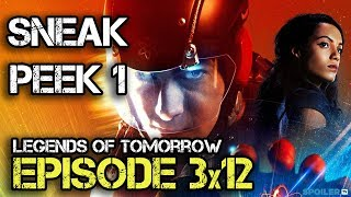 "Легенды завтрашнего дня, Legends of Tomorrow 3x12 Sneak Peek ""The Curse of the Earth Totem"""