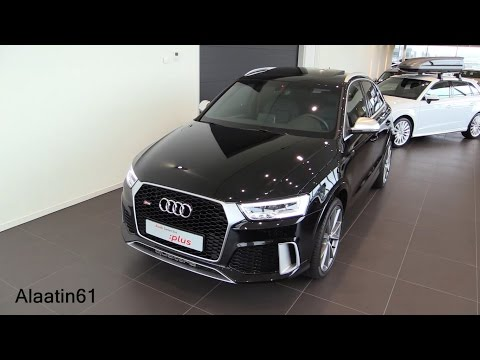 Audi RS Q3 2017 Start Up, Exhaust Sound, In Depth Review Interior Exterior