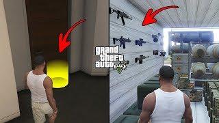 Unlocked Secret Doors in Franklin's House in GTA 5! (Secret