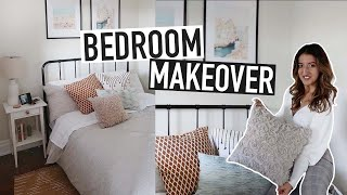 BEDROOM MAKEOVER | Decorating Ideas For Small Bedrooms