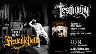 """August Alsina ft. Rick Ro$$- """"Benediction"""" [Full] Pre-Order 'Testimony' now!"""