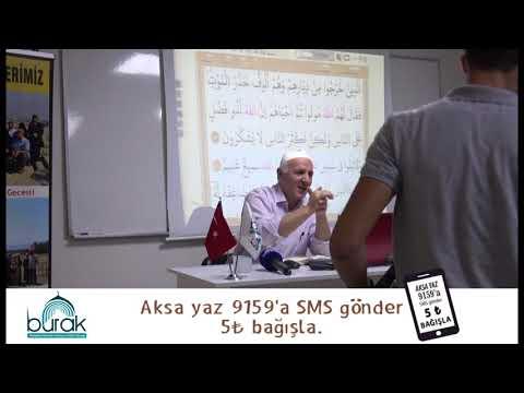 Abdurrahman Gül Hoca ile Tefsir Dersleri (6 Ekim 2018)-Burak Derneği