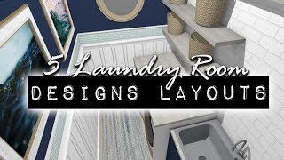 5 Laundry Room Design Layouts | DIY & Home Design