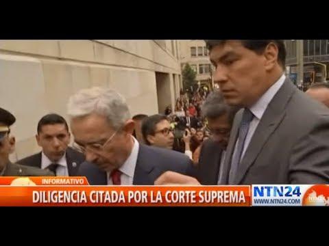 Avanza indagatoria de expresidente Álvaro Uribe Velez ante la Corte Suprema