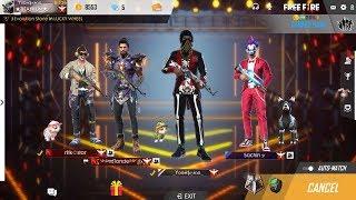 FREEFIRE LIVE GLOBAL PLAYERS INDIA  II TEAM - TITANIUM