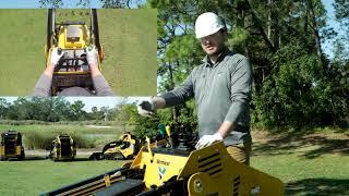 Vermeer Mini Skid Steer: How to operate the controls