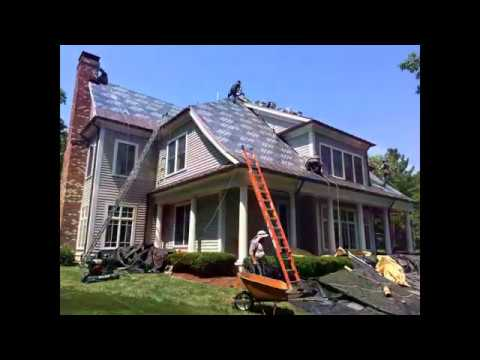 Shingle Roof Replacement in Wellesley, MA