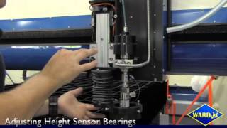 Adjusting Height Sensor Bearings
