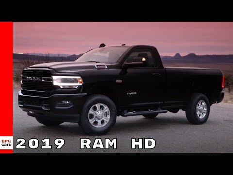 2019 Ram HD Heavy Duty Truck