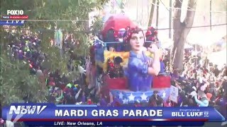 FNN: 2016 Mardi Gras Parade in New Orleans