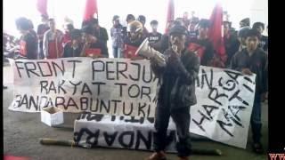 Demo Bandara Buntu Kunyi Tana Toraja