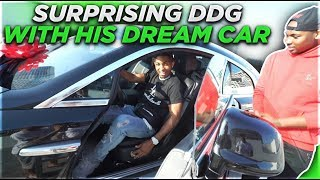 SURPRISING DDG WITH HIS DREAM CAR $315,700 ROLLS ROYCE WRAITH!!