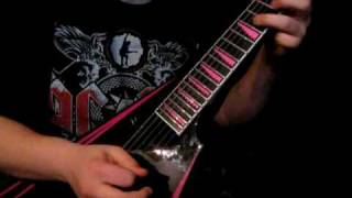 Children of Bodom - Rebel Yell Guitar Solo Cover